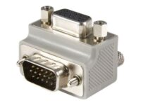 StarTech.com Right Angle VGA Adapter - Right Angle VGA to VGA - Male/Female -...