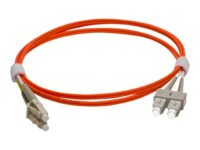 Pro Optix - Patch-kabel - LC/UPC-multiläge (hane) till SC/UPC-multiläge (hane...