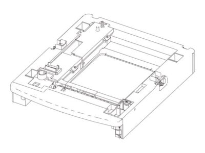 250-Sheet Drawer assembly