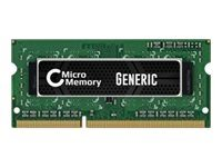 CoreParts - DDR3L - 4 GB - SO DIMM 204-pin - 1600 MHz / PC3L-12800 - 1.35 V -...