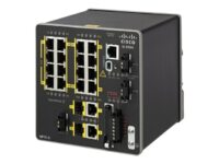 Cisco Industrial Ethernet 2000 Series - Switch - Administrerad - 16 x 10/100 ...