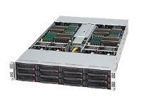 Supermicro SuperServer 6026TT-TF - kan monteras i rack - ingen CPU - 0 GB