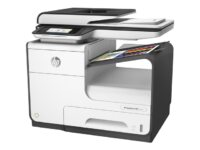 HP PageWide Pro 477dw - Multifunktionsskrivare - färg - array i sidovidd - Le...