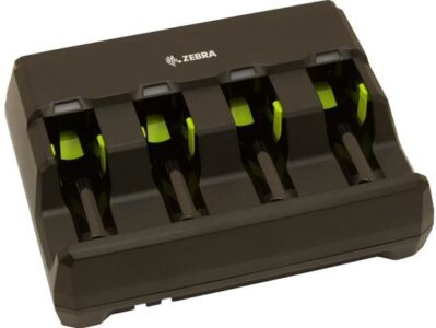 Zebra 4-slot battery charger - batteriladdare