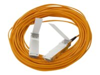 HPE Active Optical Cable - Direktkopplingskabel - QSFP+ till QSFP+ - 15 m - d...