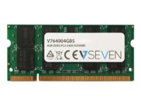 V7 - DDR2 - 4 GB - SO DIMM 200-pin - 800 MHz / PC2-6400 - ej buffrad - icke ECC
