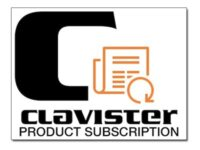 Clavister Product Subscription - Tekniskt stöd - för Clavister V10 - telefonr...