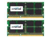 Crucial - DDR3 - sats - 16 GB: 2 x 8 GB - SO DIMM 204-pin - 1333 MHz / PC3-10...
