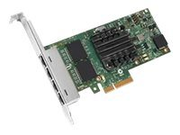 Intel I350-T4 - Nätverksadapter - PCIe 2.1 - Gigabit Ethernet x 4 - för Think...
