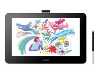 Wacom One DTC133 - digitaliserare - USB, HDMI - flintavit