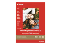 Canon Photo Paper Plus Glossy II PP-201 - fotopapper - blank - 20 ark - 130 x...