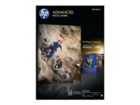 HP Advanced Glossy Photo Paper - fotopapper - 50 ark - A4